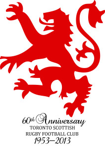 Toronto Scottish RFC 60th logo