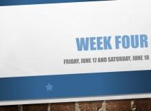 Week four